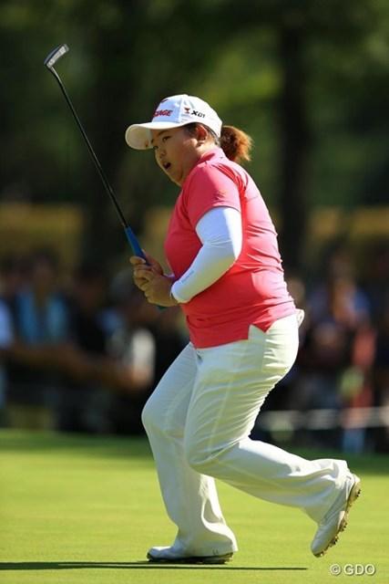2013年 日本女子オープンゴルフ選手権競技 最終日 アン・ソンジュ いくつか惜しいパットを外す場面も。もったいなかった・・・。3オーバー8位タイフィニッシュ。