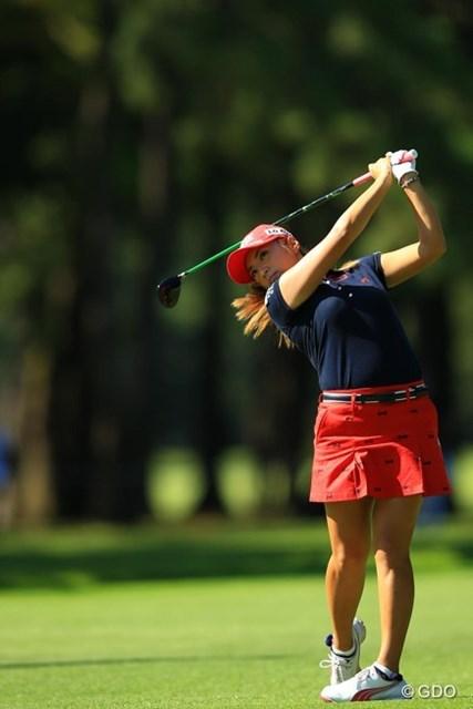 2013年 日本女子オープンゴルフ選手権競技 最終日 イ・ボミ 日本女子プロチャンピオンですが、本当にメジャーになると気合の入り方が全然違いますよねぇ。8位タイフィニッシュ。