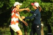 2013年 日本女子オープンゴルフ選手権競技 最終日 宮里美香 菊地絵理香
