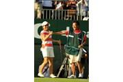 2013年 日本女子オープンゴルフ選手権競技 最終日 宮里美香&加藤大幸キャディ