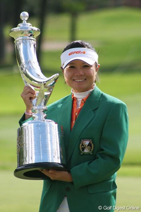 昨年は中国出身の張娜が大量リードを守り切り、ツアー初勝利を飾った 張娜