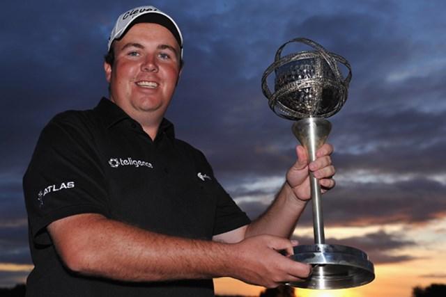 2013年 ポルトガルマスターズ 事前 ショーン・ローリー 昨年、ツアー2勝目を飾ったショーン・ローリー(Stuart Franklin /Getty Images)