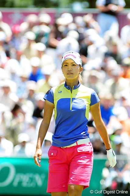 大ギャラリーの声援に「やっぱり日本はいいですね!」と発奮した上田桃子