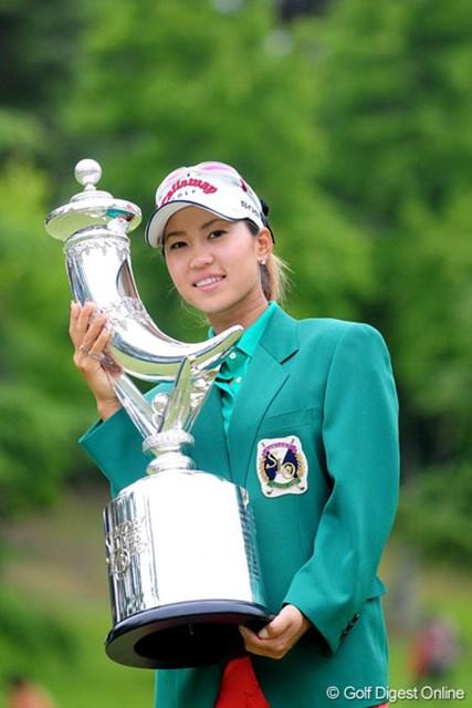 日本ツアーの優勝を手土産に、次は全米女子オープンに挑戦する上田桃子