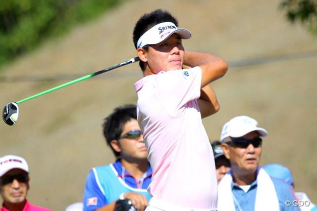 2013年 TOSHIN GOLF TOURNAMENT IN Central 初日 呉阿順 ビッグスコア「62」で2連覇へ最高のスタートを切った呉阿順。