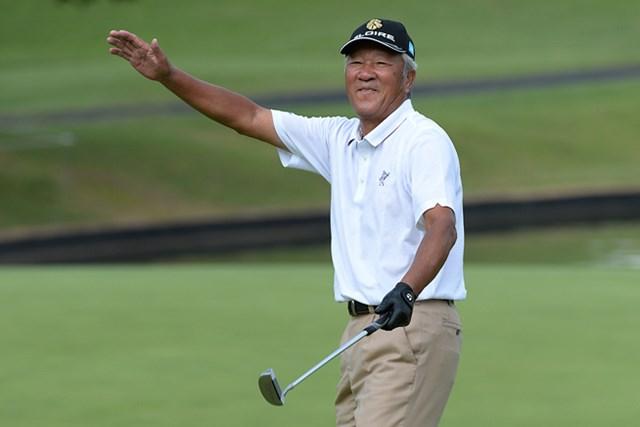71歳の青木功がエージシュート! 14位タイの好スタートを切った ※画像提供:日本プロゴルフ協会
