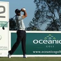 飛距離を生かした豪快なゴルフで首位発進したアルバロ・キロス(Getty Images) 2013年 ポルトガルマスターズ 初日 アルバロ・キロス