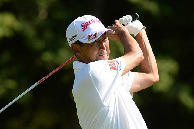 2013年 日本プロゴルフシニア選手権大会 3日目 渡辺司 後続に5打差をつけ、独走態勢を築いた渡辺司 ※画像提供:日本プロゴルフ協会
