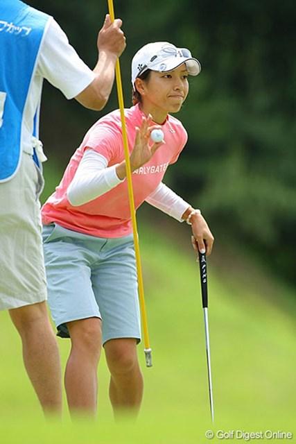 佐藤靖子 5バーディ、ノーボギーと完璧なゴルフで4位タイに食い込んだ佐藤靖子