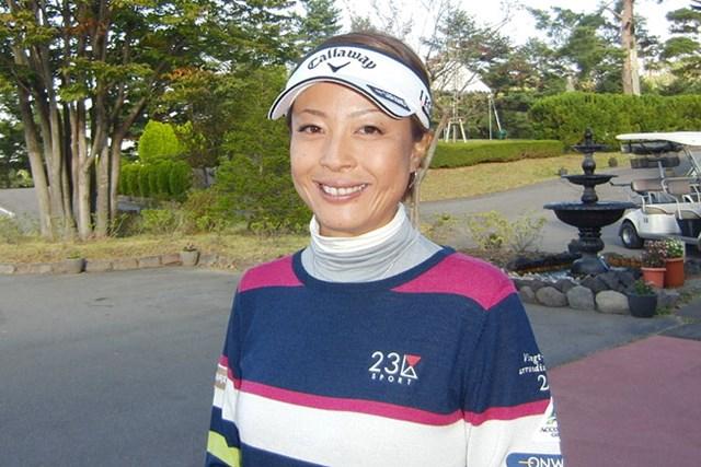 初日首位タイ発進の下村真由美。ステップアップツアー3勝目を目指す