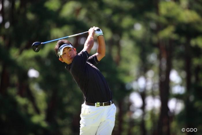 レギュラーツアー本格参戦1年目。河野はここまで賞金ランク21位と大いに健闘している 2013年 日本オープンゴルフ選手権競技 初日 河野祐輝