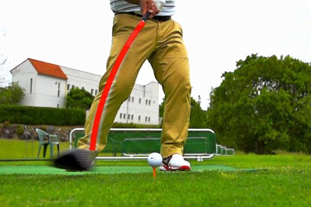 ゴルフクラブの取扱説明書 Vol.6 シャフトを横にしならせると飛ぶ! 1P