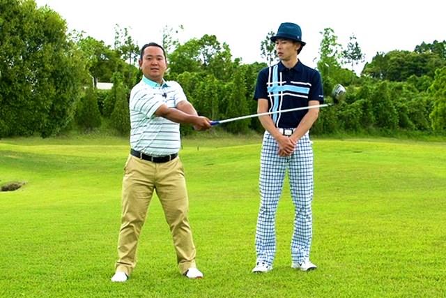 ゴルフクラブの取扱説明書 Vol.6 シャフトを横にしならせると飛ぶ! 4P