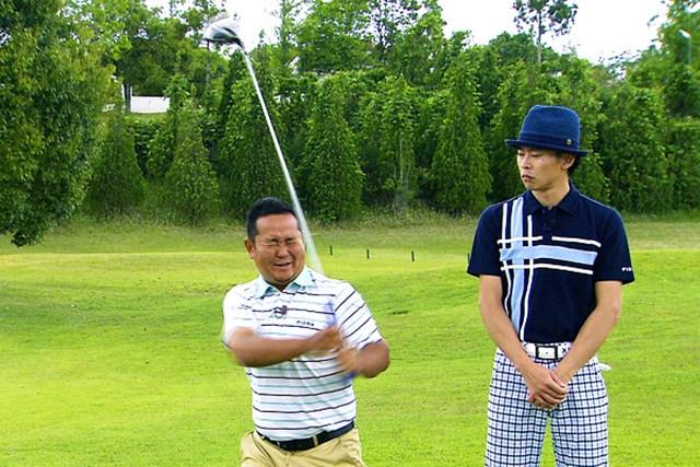 ゴルフクラブの取扱説明書 Vol.6 シャフトを横にしならせると飛ぶ! 5P