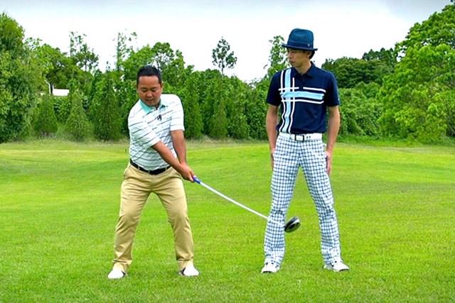 ゴルフクラブの取扱説明書 Vol.6 シャフトを横にしならせると飛ぶ! 6P