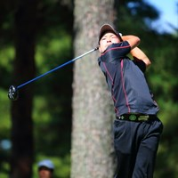 そんなに高い球が打ちたいですか? 2013年 日本オープンゴルフ選手権競技 2日目 藤本佳則