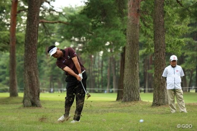 2013年 日本オープンゴルフ選手権競技 3日目 ハン・リー プロってすげーなー。ここまでローボール打てるって。
