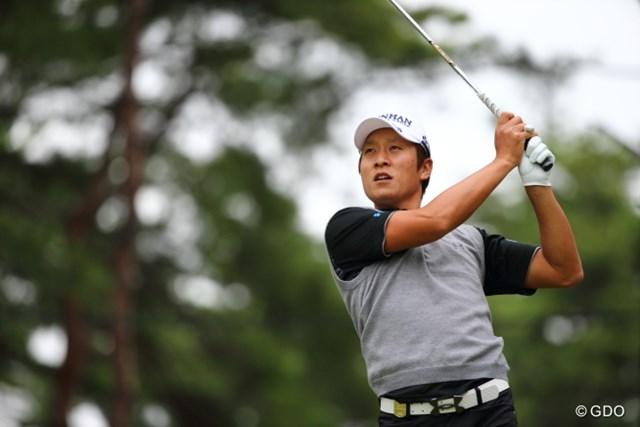 2013年 日本オープンゴルフ選手権競技 3日目 キム・キョンテ え?誰?あ、キョンテか。