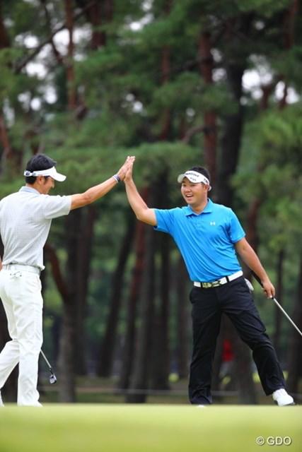 2013年 日本オープンゴルフ選手権競技 3日目 薗田峻輔 すごいの入っちゃったよー!