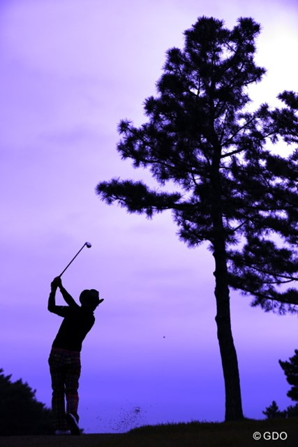 2013年 日本オープンゴルフ選手権競技 3日目 片山晋呉 オンプレーンスイングの神。