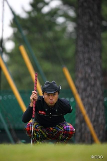 2013年 日本オープンゴルフ選手権競技 3日目 片山晋呉 この鳥、なんていう鳥?