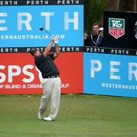 首位に並ぶ地元西オーストラリア出身のブロディ・ニネット(Getty Images) 2013年 ISPS HANDA パースインターナショナル ブロディ・ニネット