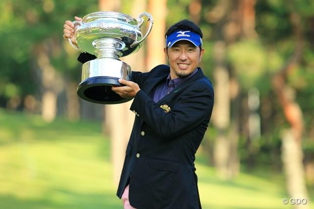 ツアー3勝目を初のメジャー制覇で飾った小林正則
