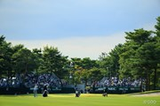 2013年 日本オープンゴルフ選手権競技 5日目 18番スタンド