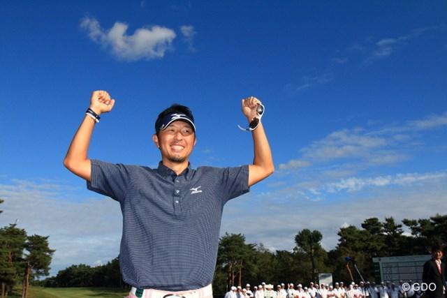 2013年 日本オープンゴルフ選手権競技 最終日 小林正則 小林正則は、高校の後輩・小田孔明とのマッチレースを制してメジャー初勝利!