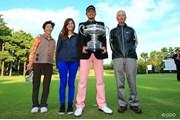 2013年 日本オープンゴルフ選手権競技 5日目 小林家族