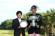 2013年 日本オープンゴルフ選手権競技 5日目 優勝者&ベストアマ