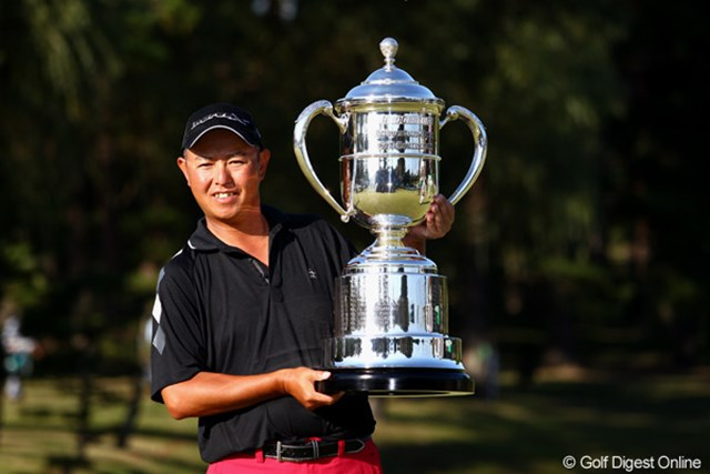2013年 ブリヂストンオープンゴルフトーナメント 事前 谷口徹 昨年は劇的な逆転勝利で優勝を飾った谷口徹。今年は大会3連覇を狙う。