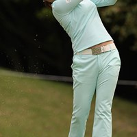 手堅いゴルフを続け単独首位をキープした中国のチャンナ チャンナ