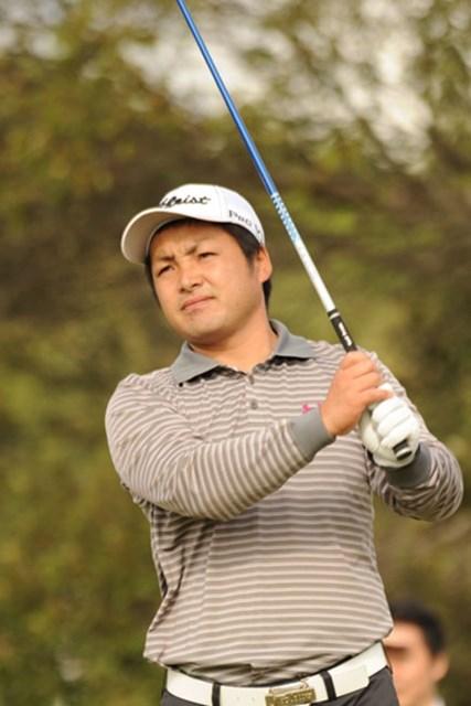 6アンダーの「66」をマークした永松宏之が、単独首位の好スタートを切った