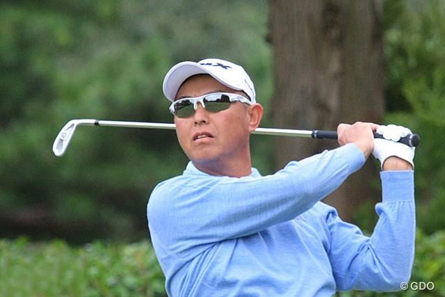 2013年 ブリヂストンオープンゴルフトーナメント 初日 谷口徹 大会3連覇へ首位発進!谷口徹が4アンダーをマークした