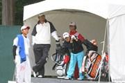 2013年 ブリヂストンオープンゴルフトーナメント 初日 ハン・リー、上平栄道