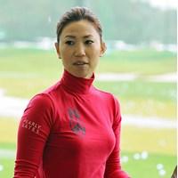 上田桃子は練習後、神戸市内にある江連忠ゴルフアカデミーへ向かった 2013年 マスターズGCレディース 2日目 上田桃子