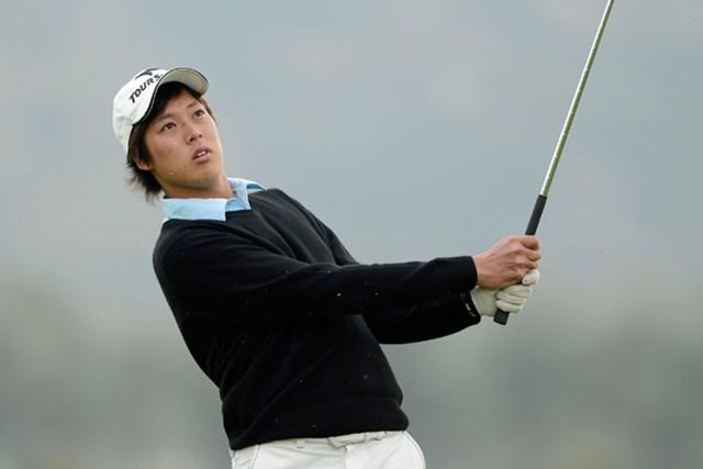 2013年 アジアパシフィックアマチュア選手権 2日目 長谷川祥平 優勝者にマスターズ出場切符が付与される大一番。長谷川がトップタイで2日目を終えた。(画像提供AAC)