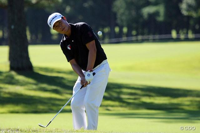 2013年 ブリヂストンオープンゴルフトーナメント 最終日 I.J.ジャン 片山晋呉、池田勇太と同組で気持ち良くスコアを伸ばしたI.J.ジャン