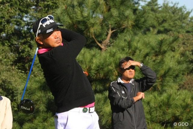 2013年 ブリヂストンオープンゴルフトーナメント 最終日 塚田好宣 2連続ボギーからの巻き返しを見せた塚田好宣
