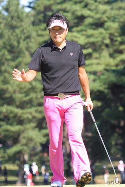 2013年 ブリヂストンオープンゴルフトーナメント 最終日 井上信 所属コースでの優勝ならず、井上信は38位タイと沈んだ