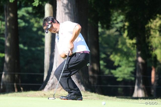 2013年 ブリヂストンオープンゴルフトーナメント 最終日 塚田陽亮 最終9番はバーディならず。予選をぎりぎりで通過した塚田は21位に浮上し賞金99万円をゲット