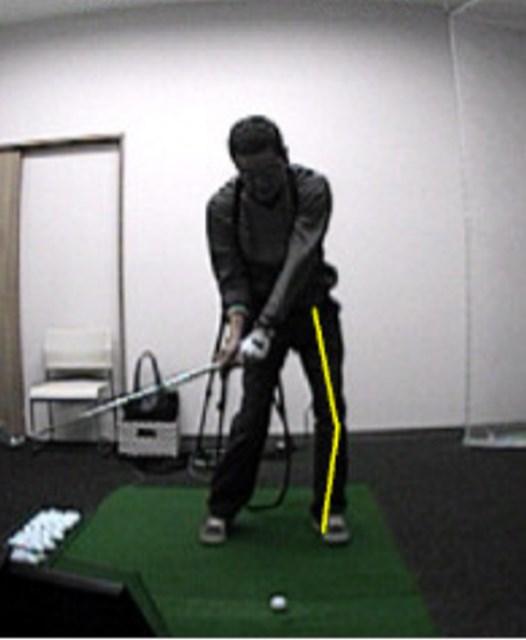 golftec 左サイドの壁は右サイドで作る! 2-2