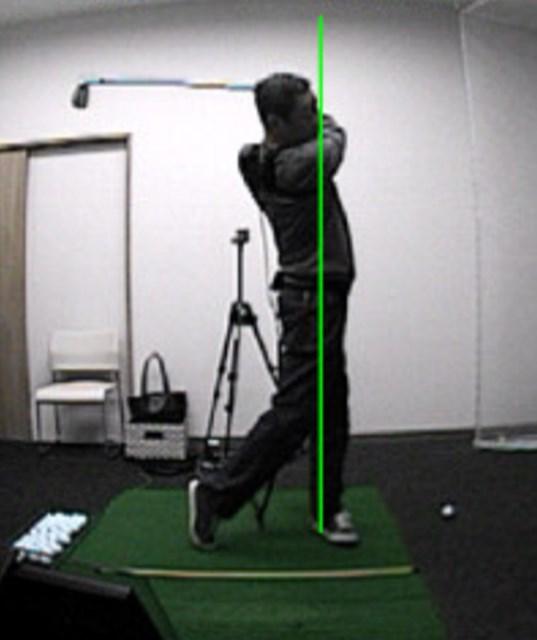 golftec 左サイドの壁は右サイドで作る! 6-2