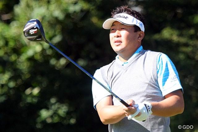 2013年 ブリヂストンオープンゴルフトーナメント 最終日 丸山大輔 ティショットは絶好調とまでいかないまでも・・・要所ではキッチリと抑えゴールテープを切った