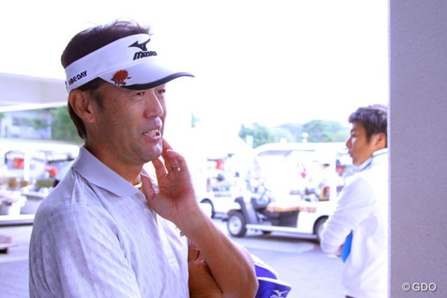 今季は8試合目のレギュラーツアー出場。鈴木亨は来季、再びこのトップツアーを主戦場とする。