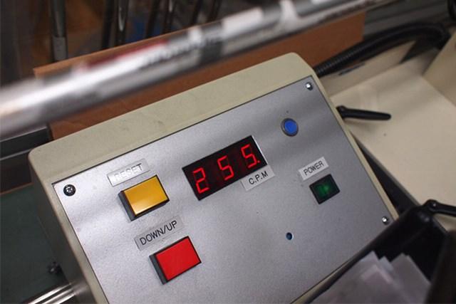 マーク試打 藤倉ゴム工業 モトーレスピーダー(2013年) 60g台の661Sは振動数が255cpm。振動数はそれほど高くない