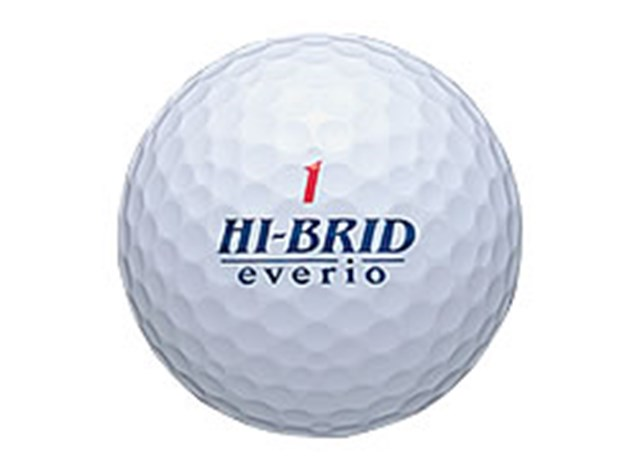 SRIスポーツ 「ハイブリッドエブリオ」 リコイル現象を元に開発されたボール「ハイブリッドエブリオ」