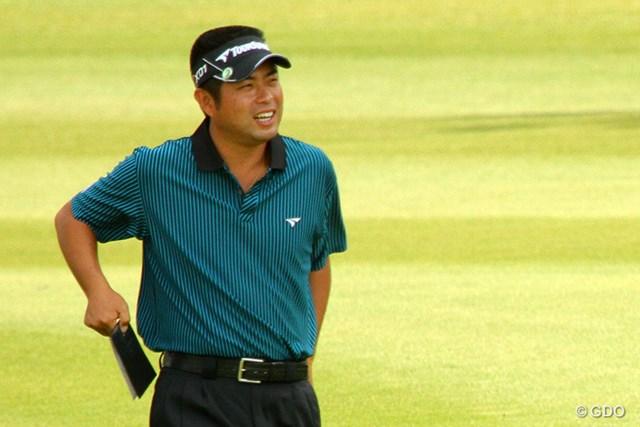 ビッグスコアで単独首位発進を決めた池田勇太。最終日に笑顔は見られるか