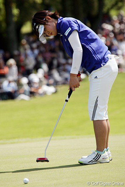 「来週につながるゴルフが出来ました」。2位タイフィニッシュの諸見里しのぶ